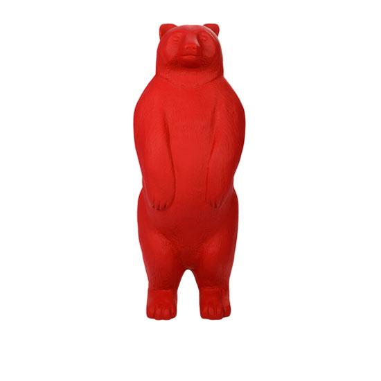 熊动物雕塑